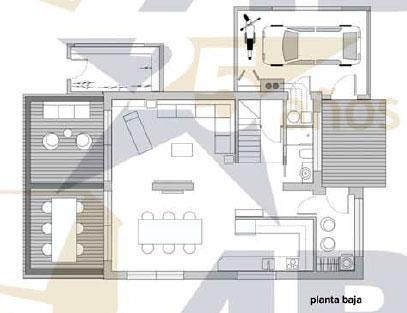 Plano planta baja Turia